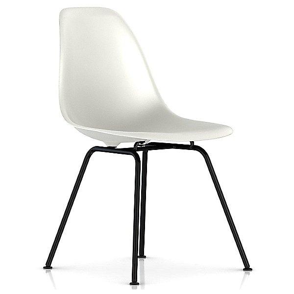 Eames Molded Plastic Side Chair - 4 Leg Base