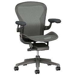 Aeron Office Chair - Size C, Carbon