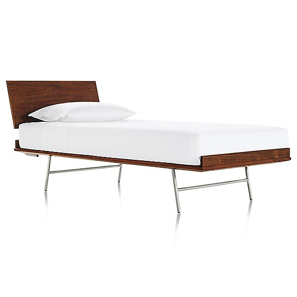 Nelson Thin Edge Bed, Metal Base