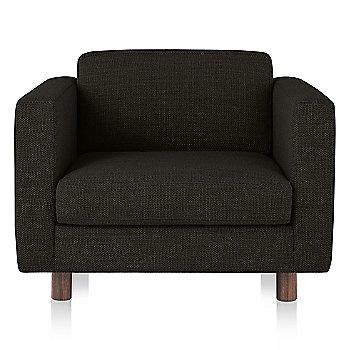 Oak Leg finish / MCL Leather Cobblestone febric