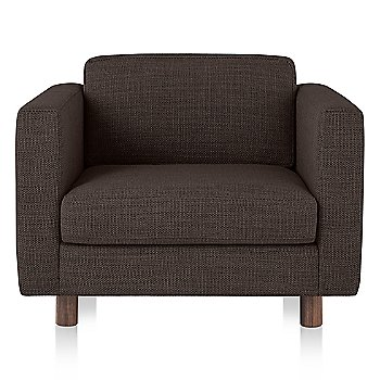 Oak Leg finish / MCL Leather Stone febric
