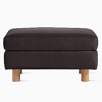 MCL Leather Espresso fabric with Light Oak leg finish