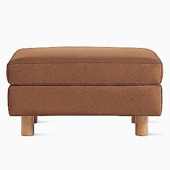 MCL Leather Cobblestone fabric with Light Oak leg finish