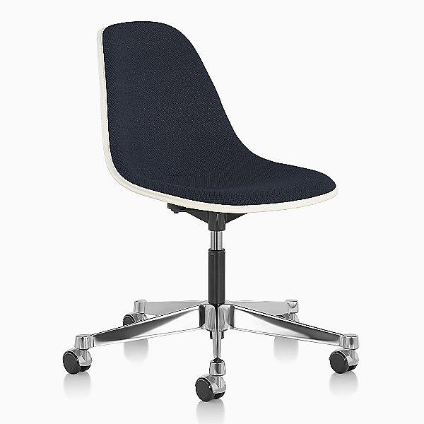 Eames Molded Fiberglass Task Chair Fully Upholstered