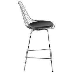 Eames Wire Stool with Seat Pad
