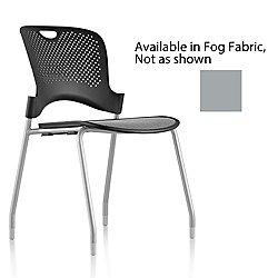 Caper Stacking Chair (Silver/Fog/Black) - OPEN BOX RETURN