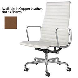 Eames Aluminum Group Executive Chair(Copper/Chrome)-OPEN BOX
