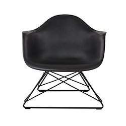 Eames Molded Plastic Armchair - Low Wire Base