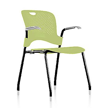 Black Frame Finish /  Green Apple Seat/Back Finish / Silver Grey Arm Finish