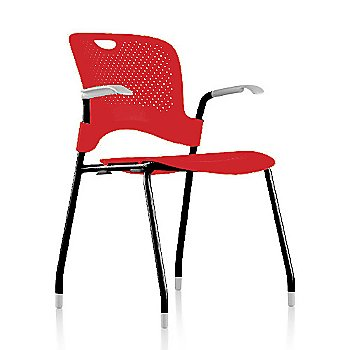 Metallic Silver Frame Finish /  Red Seat/Back Finish / Fog arm finish