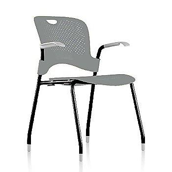 Metallic Silver Frame Finish /  Metallic-Silver Seat/Back Finish / Fog arm finish