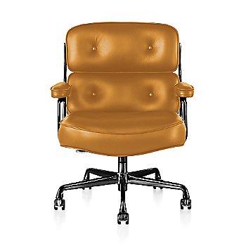 Graphite Satin Base finish / Graphite Satin Frame finish / Open Line Leather: Orange