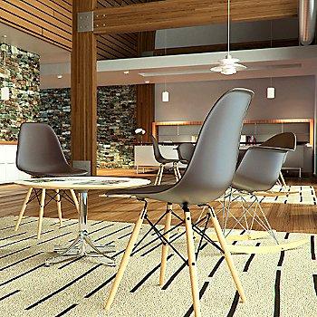 Modern lounge setting