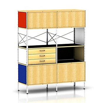 Zinc Frame/4 Units High, 2 Units Wide frame finish / Natural Color