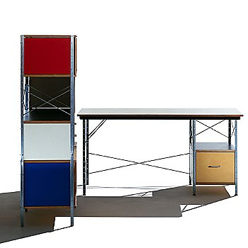 Zinc Frame/4 Units High, 2 Units Wide frame finish / Natural Color / side view