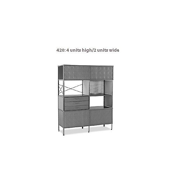 Eames Storage Units, 4-Units High