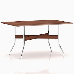 Nelson Rectangular Swag Leg Dining Work Table