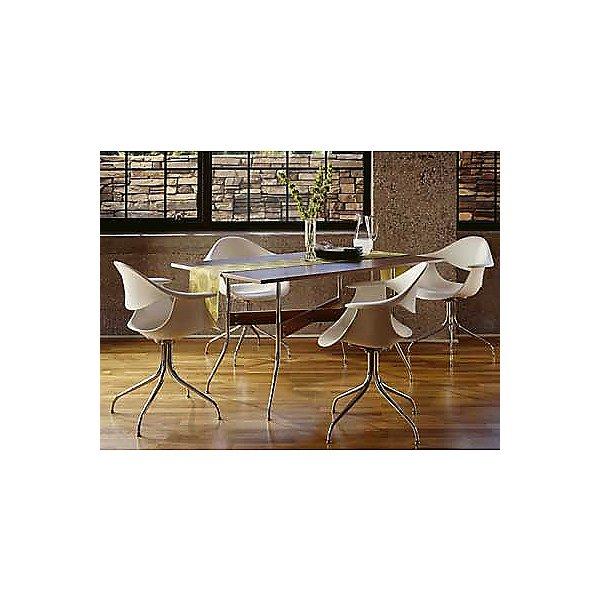 Nelson Rectangular Swag Leg Dining Work Table
