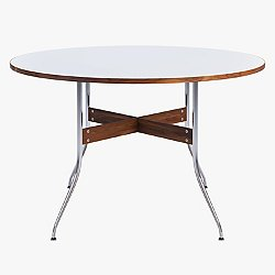 Nelson Round Swag Leg Dining Table