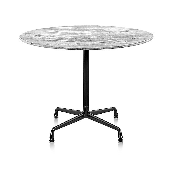Eames Round Dining Tables with Universal Base, Outdoor