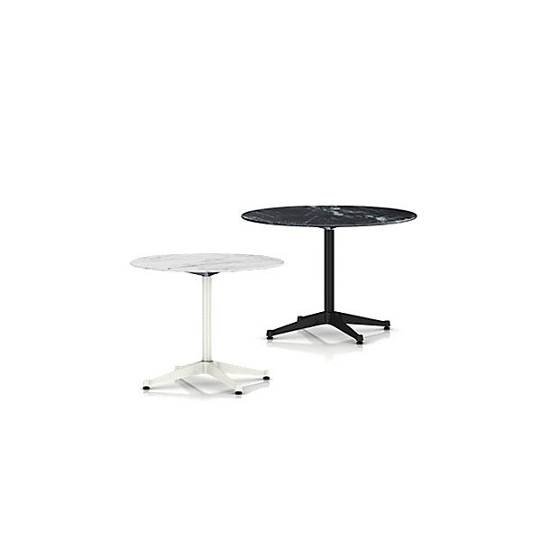 Herman Miller Eames Round Dining Tables With Contract Baseand Outdoor Ylighting Com