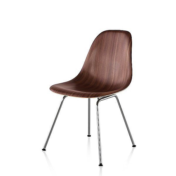 Herman Miller Eames Molded Wood Side, Eames Side Chair Wire Base