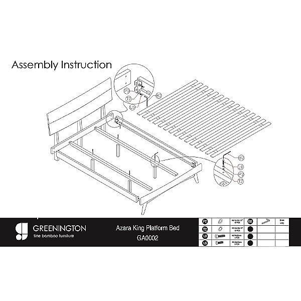 Azara Platform Bed