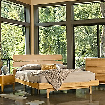 Shown in use with Currant Nightstand and Currant 6 Dresser Drawer (sold separately)