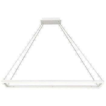 Circ LED Rectangular Pendant