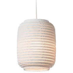 Ausi Scraplight White Pendant Light