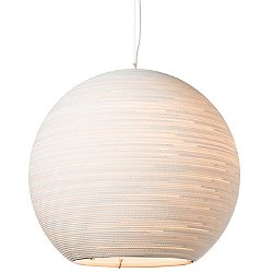 Sun32 Scraplight White Pendant Light