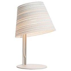 Tilt White Scraplight Table Lamp