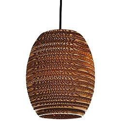 Oliv Scraplight Natural Pendant Light