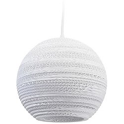 Moon White Scraplight Pendant (Small) - OPEN BOX RETURN