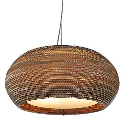 Ohio Scraplight Natural Pendant Light (Small) - OPEN BOX RETURN