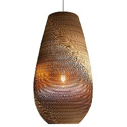 Drop Scraplight Natural Pendant Light (Large) - OPEN BOX RETURN