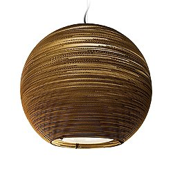 Arcturus Scraplight Natural Pendant Light