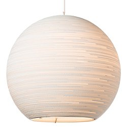 Arcturus Scraplight White Pendant Light