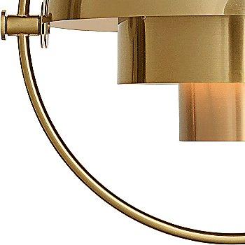 Matte White with Brass, alternate adjustment