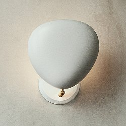 Cobra Wall Sconce by Gubi (Matte White) - OPEN BOX RETURN