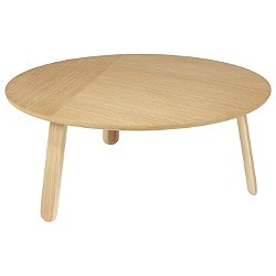 Paper Coffee Table (Large/31 In. Dia/Oak) - OPEN BOX RETURN