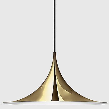 Medium size / Brass finish