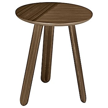 Walnut finish / Small / 17-In. Dia. size