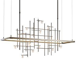 Spring LED Linear Suspension Light