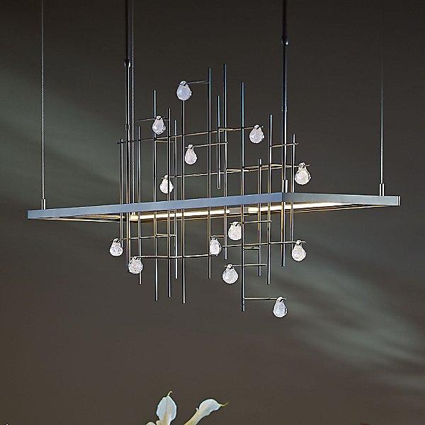 Spring LED Linear Suspension Light