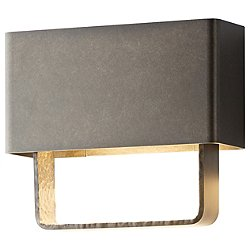 Quad Small LED Outdoor Wall Sconce