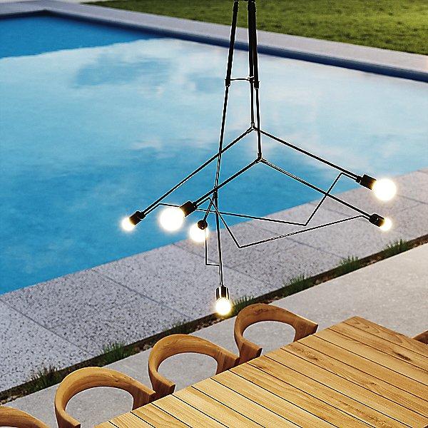 Divergence Outdoor Pendant Light