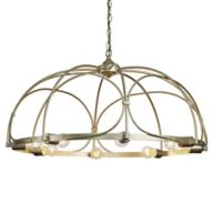 Gold and Silver Chandelier