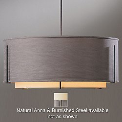 Exos Double Shade Suspension (Natural/Steel/Long) - OPEN BOX