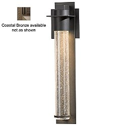 Airis Coastal Outdoor Wall Light (Seedy Clear/Coastal Bronze/Small) - OPEN BOX RETURN